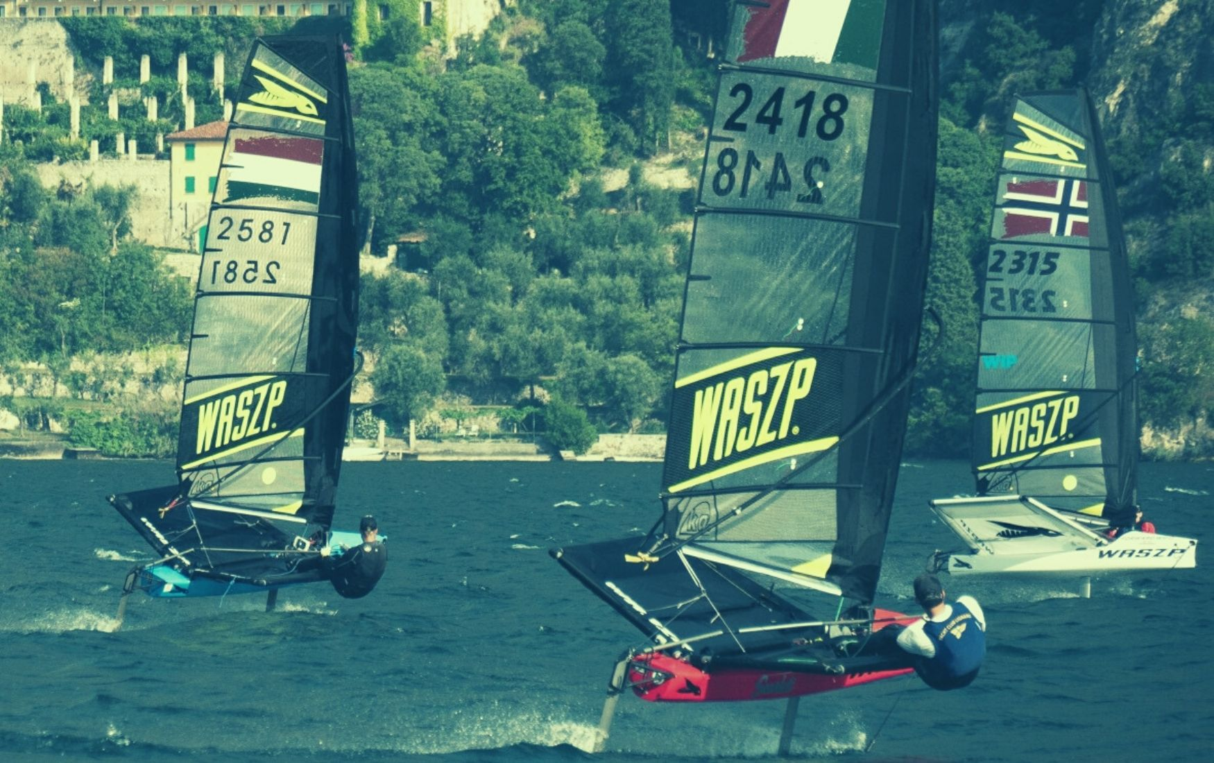 WASZP + Moth regatta